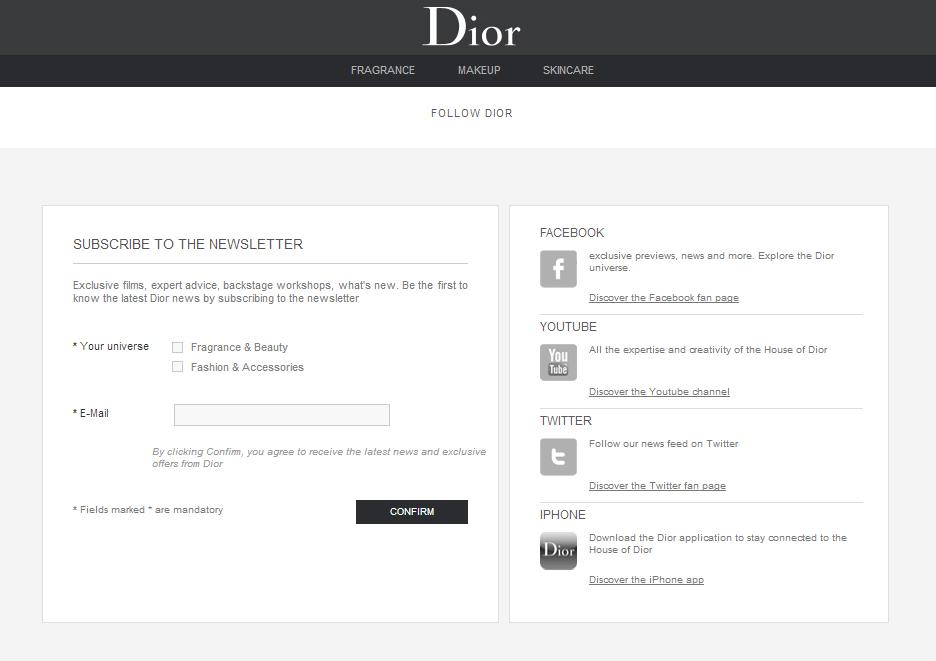 market segmentation dior Si la maison dior s'est d'abord fait connaître grâce à la haute couture, c'est en  étendant son activité et en s'appuyant sur une bonne stratégie de communication .