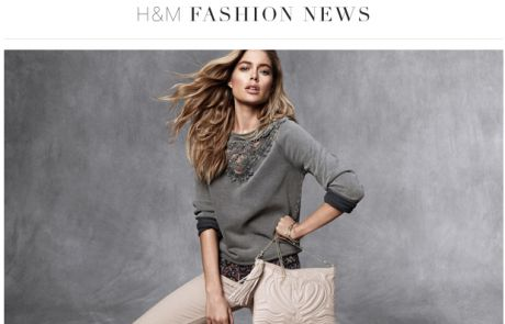 H&M Welcome Email