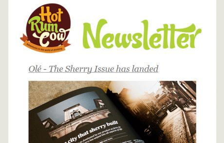 Hot Rum Cow: The Sherry Issue (Newsletter featuring Animated GIF)