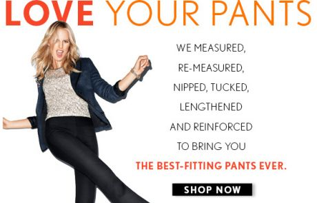 LOFT Email - best-fitting pants EVER