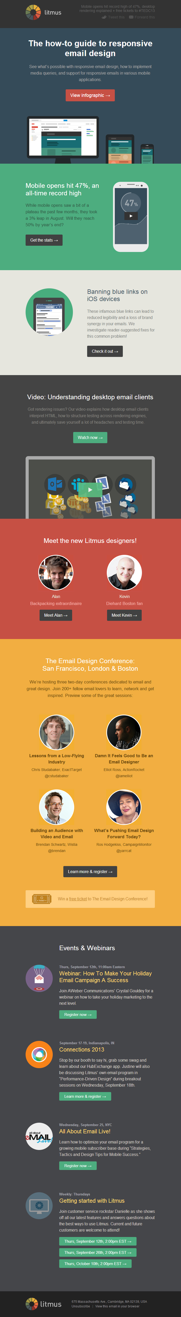 Litmus: The infographic guide to responsive email design (Standout ...