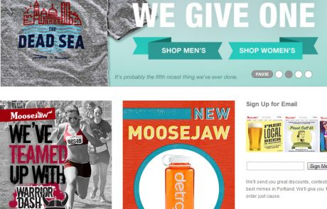 Moosejaw (Newsletter Signup Inspiration)
