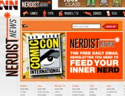 Nerdist News (Newsletter Signup Inspiration)