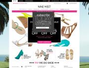 Nine West (Newsletter Signup Pop-up Example)