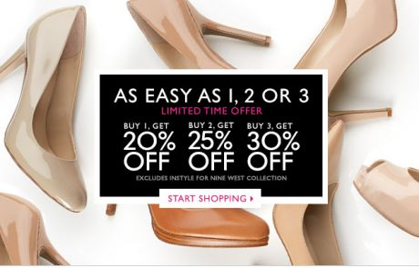 Nine West - Something for me, myself and I - Sale Email