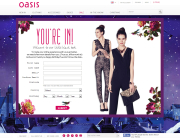 Oasis (Newsletter Signup Inspiration)