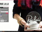 Rue La La Newsletter Signup Page December 2013