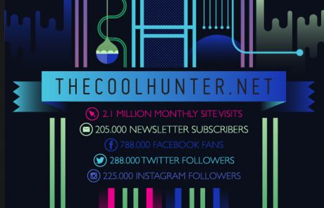 The Cool Hunter (Newsletter Signup Inspiration)