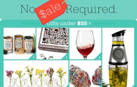 Uncommon Goods - No Sale Required - Sale Email