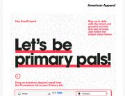 "American Apparel Gmail ""Move Me"" Campaign - September 2013"