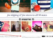 Kate Spade (Newsletter Signup Promotion Example)