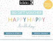 kikki.K Birthday Email