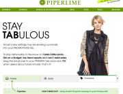 "Piperlime Gmail ""Move Me"" Campaign - August 2013"