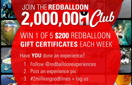 RedBalloon Social Engagement Email