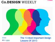 Co.Design Weekly Newsletter - The Best of 2013