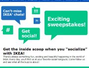 IKEA Social Engagement Email