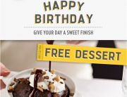 Macaroni Grill Birthday Email