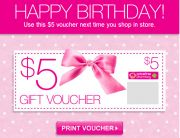 Priceline Birthday Email