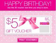 Priceline Birthday Email