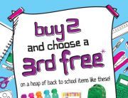 Smiggle: Buy two, choose a third free (Standout Sale Email)