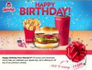 Wendy's Birthday Email