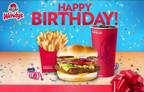 Wendy's Birthday Email