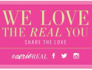 "Aerie Standout Email (""Share The Love! Get #AerieREAL"") - January 23, 2014"