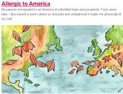 """Narratively Standout Subject Line (""""Allergic to America"""") - January 9, 2014"""
