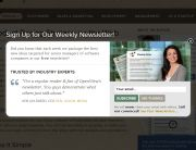 OpenView Labs Newsletter Signup Pop-up