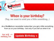RedBalloon Subscriber Detail Request