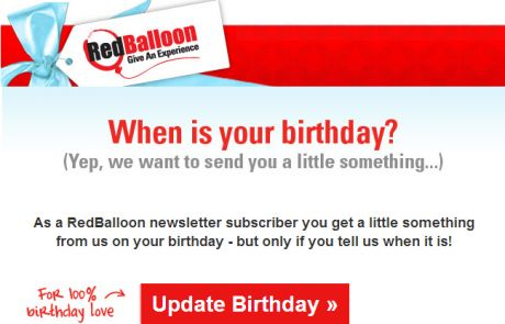 RedBalloon Subscriber Detail Request
