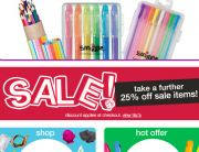 Smiggle Standout Sale Email - January 30, 2014