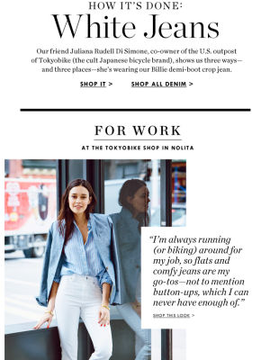J.Crew - Standout Email Content