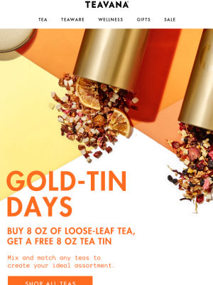 Teavana - Standout Mobile Design